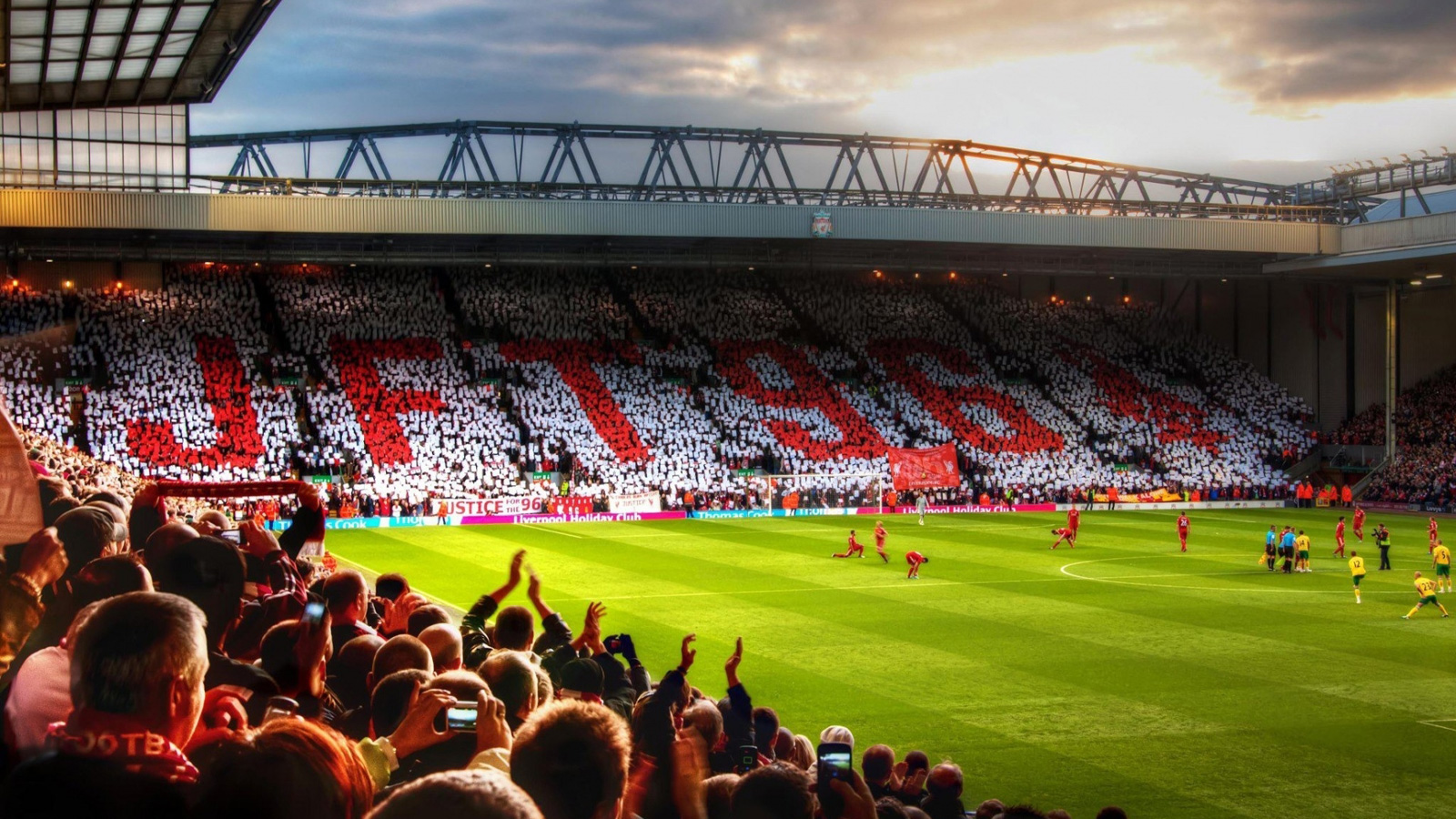 Anfield,The Champions