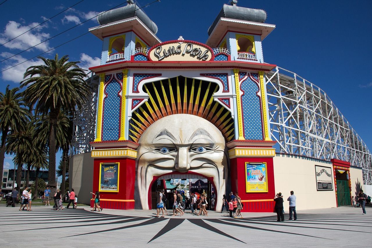 Luna Park ,things to do in Australia