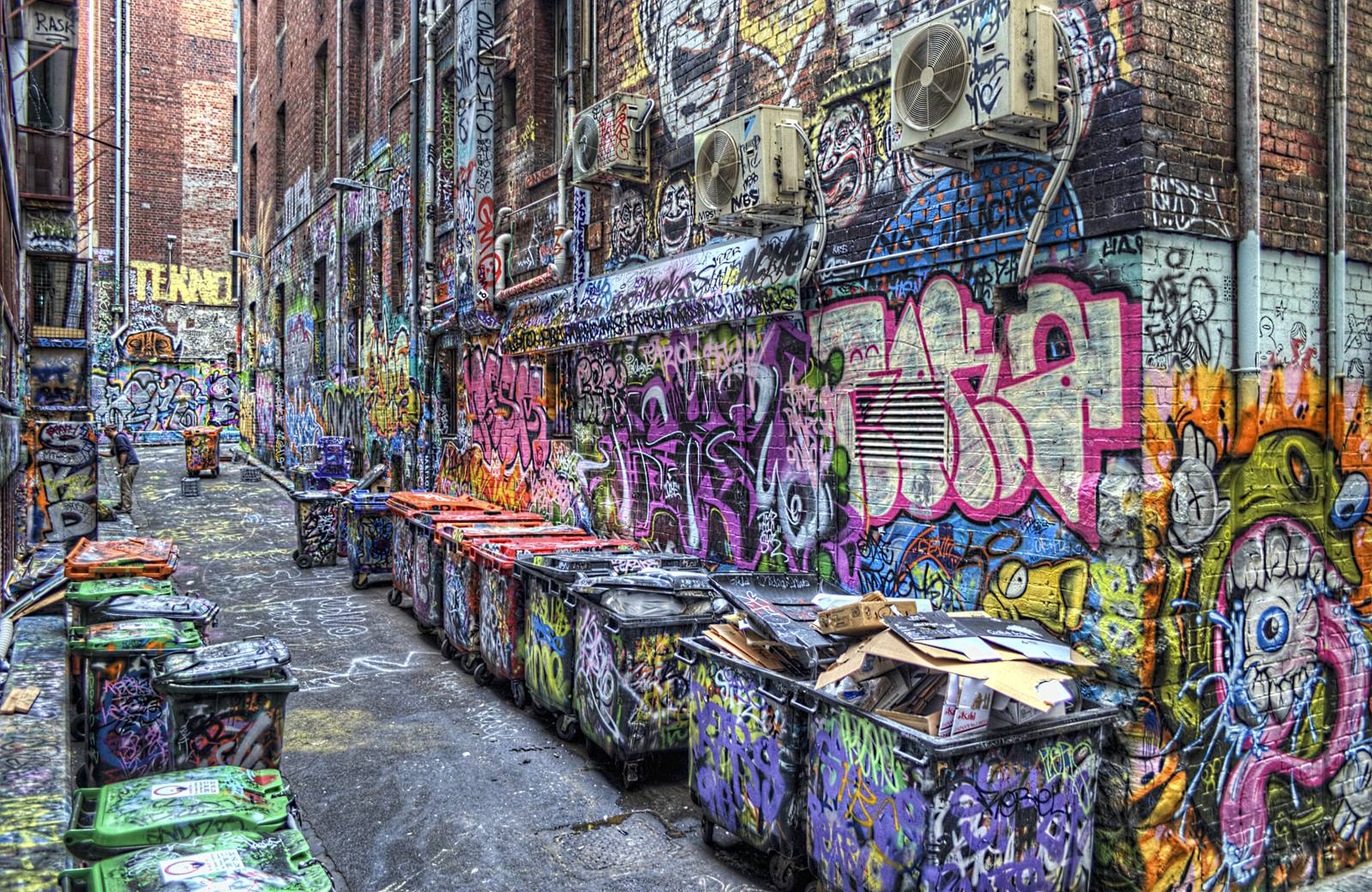 graffiti alleys of Melbourne,things to do in Australia