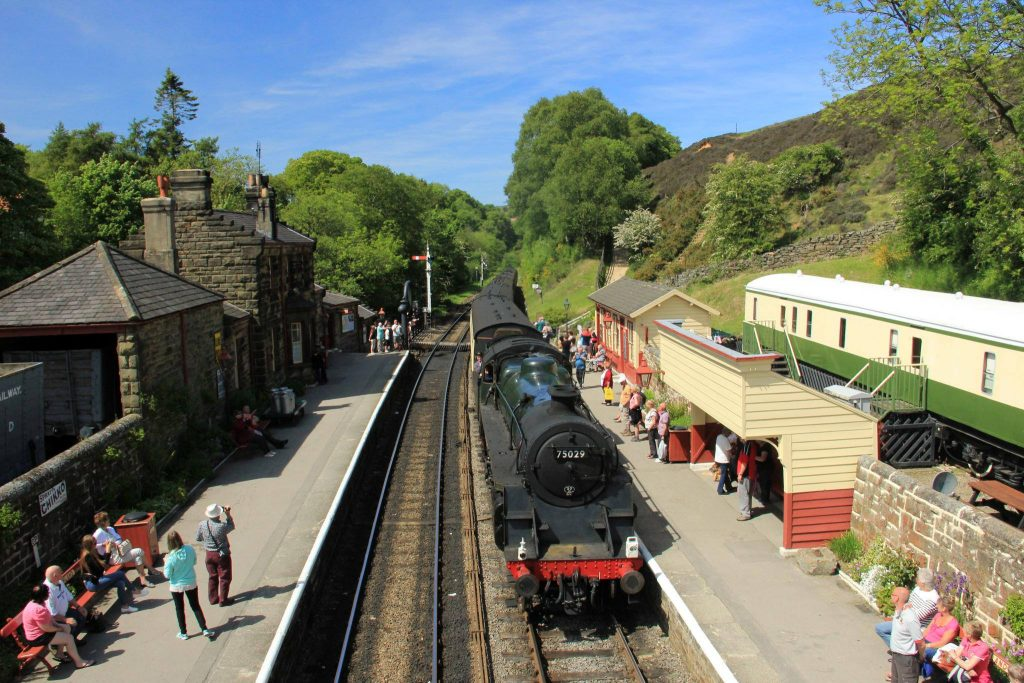 Goathland Train station
