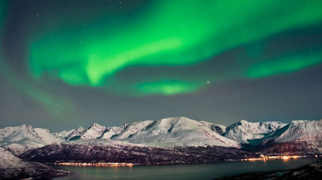 West Fjords Northern Lights
