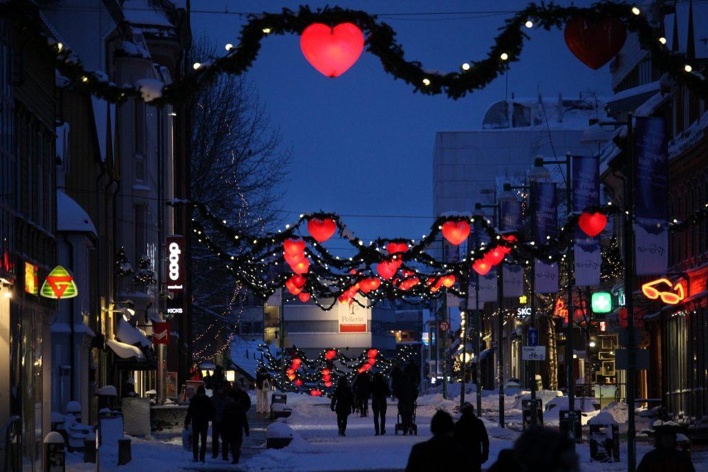 Christmas in Tromso