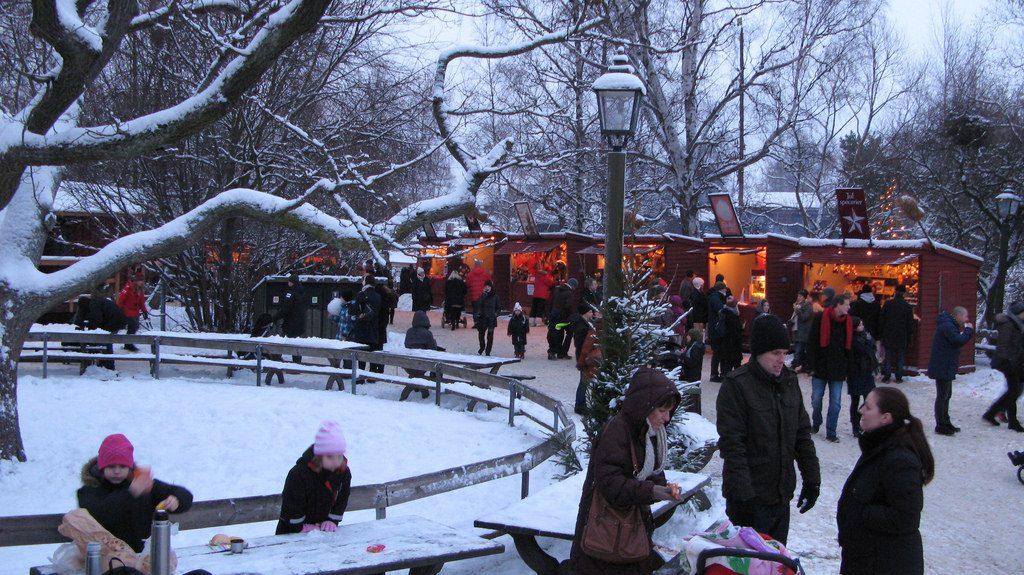 Skansen Christmas Market Sweden