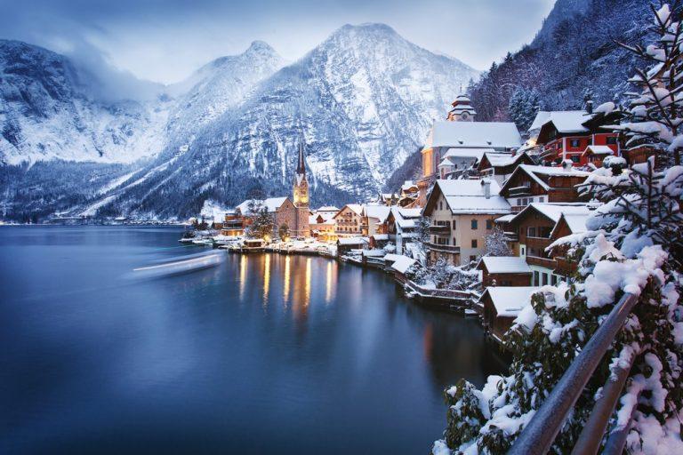 Hallstatt's White Christmas
