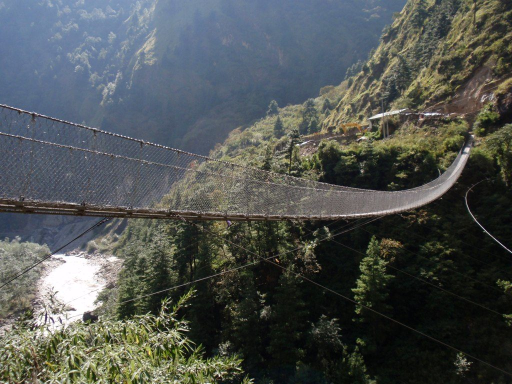 Ghasa Bridge, Nepal