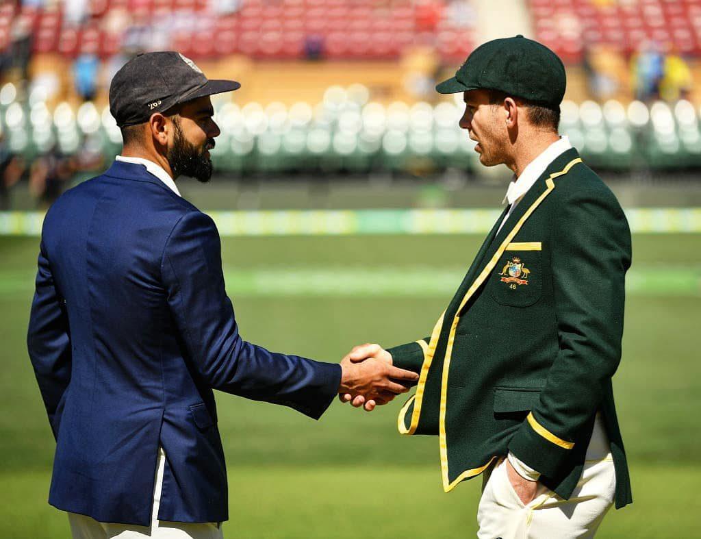 Team India vs Team Australia