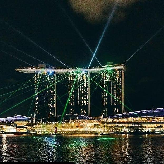 Marina Bay Sands View Singapore