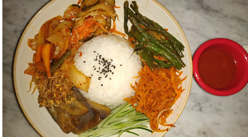 Korean food Bali one mile at a time seminyak pickyourtrail