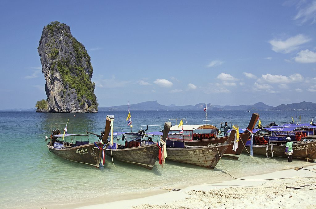 7 day Thailand itinerary: 2 days in Krabi