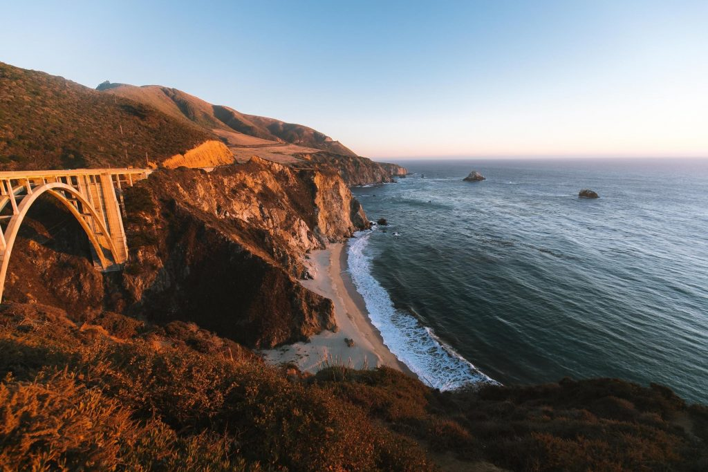 California, USA - A place to see in 2020