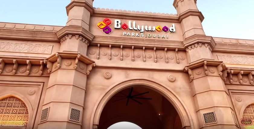 Bollywood Park Entrance In Dubai